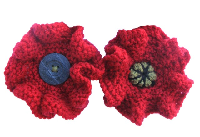 knitted poppy edit