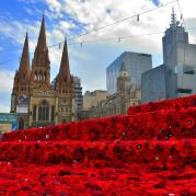 Fed Square Anzac Day 2015