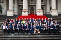 5000 Poppies meets Vic Parliament