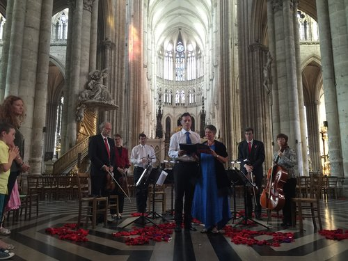 The Flowers of War in Amiens Cathedral 2016